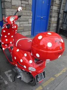 "Alek's ""Ladybird"" scooter"
